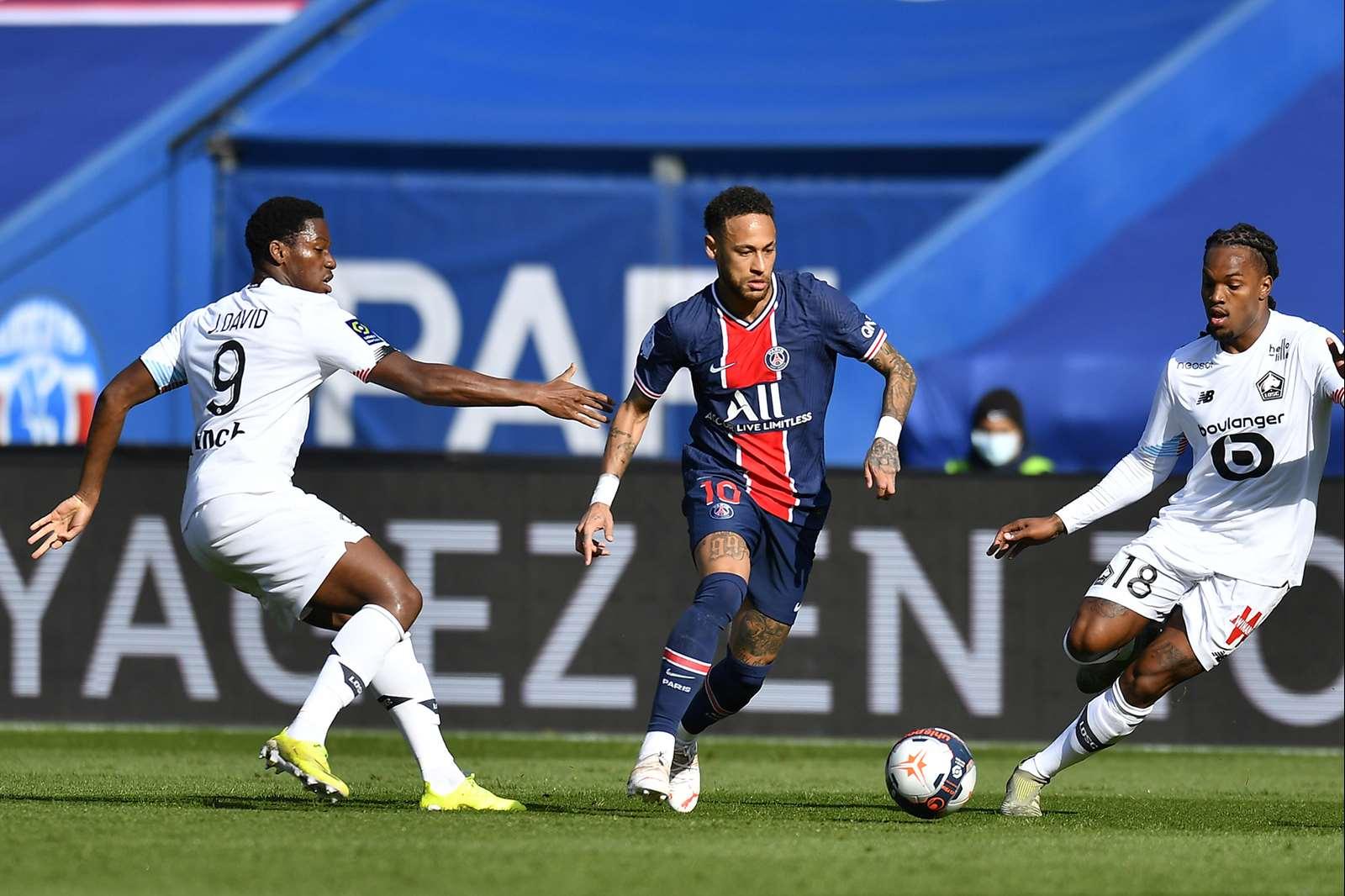 El Lille se impone al PSG (0-1) y lidera en solitario